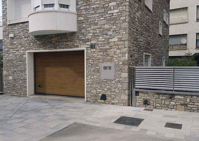 reixa + porta garatge